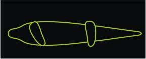 Método clásico de poner los pies en tu Longboard