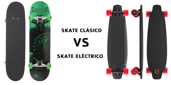 ¿Skateboard eléctrico o skateboard clásico?