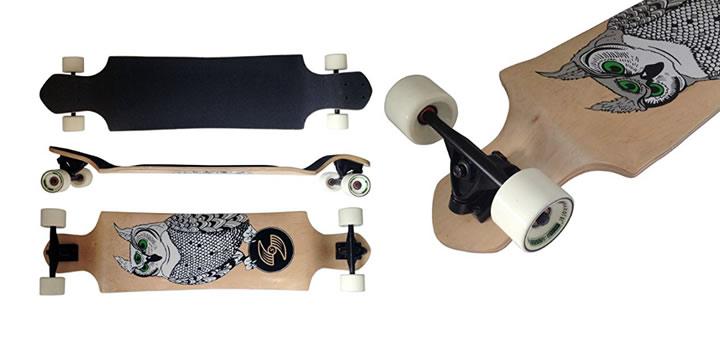 MAXOfit Deluxe Longboard Atomic No.3 - Los mejores longboard para regalar