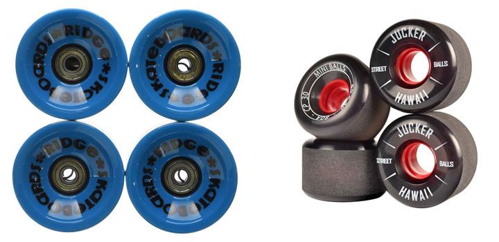 ¿Qué ruedas baratas para longboard comprar?